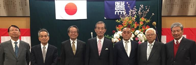 院長 医学部卒後50周年記念:日本医科大学卒業式に招待される。